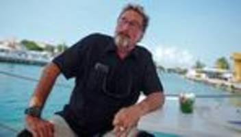 john mcafee: der mann, der computerviren bekämpfte