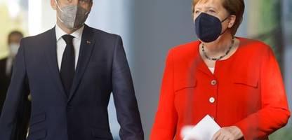 EU-Gipfel in Brüssel: Russland-Strategie von Angela Merkel und Emmanuel Macron spaltet EU-Gipfel