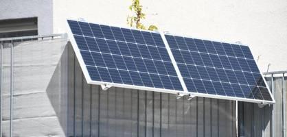 Solarstrom vom Balkon? So lohnt sich eine Anlage auch für Mieter
