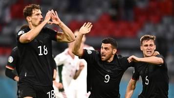 Spiel gegen Ungarn - Ein bissl verliebt: Twitter feiert Goretzkas Herz-Jubel