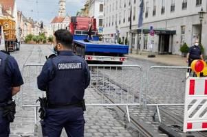 Nach Krawallen: Augsburg setzt die neuen Regeln für die Maxstraße jetzt um