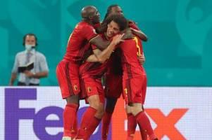 Belgien gegen Portugal: Liveticker und Übertragung im Free-TV oder Live-Stream bei der EM 2021