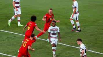 fußball-em - portugal und ronaldo draußen: hazard lässt belgien jubeln