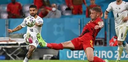 fußball-em: italien wirft belgien raus und steht im halbfinale
