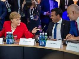 zukunft im vereinten europa: merkel sieht westbalkan künftig in der eu