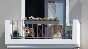schutzpolice: hausratversicherung greift auch auf balkon und terrasse