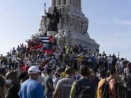 proteste in kuba: nieder mit der diktatur