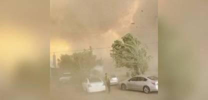 usa: waldbrände in kalifornien und oregon - »das ist ein verdammter tornado«
