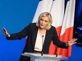 deutscher verrat an frankreich: präsidentin le pen würde mit berlin brechen