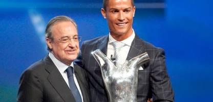 real madrid: präsident florentino perez lästerte über seine superstars