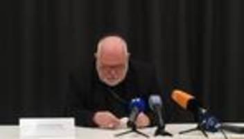 katholische kirche: kardinal reinhard marx entschuldigt sich für missbrauchsfälle