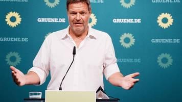Habeck Hauptredner bei kleinem Parteitag der Grünen