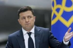 Ukraine: Selenskyj bezeichnet Russland als Gefahr für ganz Europa