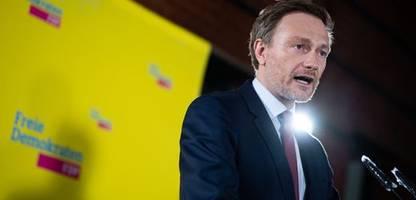 FDP: Christian Lindner will bei Regierungsbeteiligung Finanzminister werden