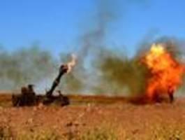 Israel reagiert mit Artilleriefeuer auf Raketenbeschuss aus dem Libanon
