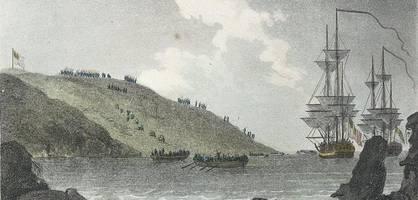 die letzte gelungene invasion englands endete im suff