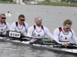 olympia: totalschaden am deutschen viererkajak