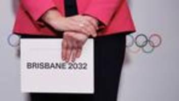 Olympische Spiele: Australiens Brisbane soll Austragungsort im Jahr 2032 werden