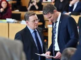 Abstimmung im Thüringer Landtag: AfD will Misstrauensvotum gegen Ramelow