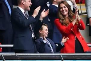 Britisches Königshaus: Fußball-Fan Prinz George wird acht Jahre alt