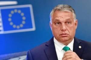 Minderheitenrechte: Orban will Referendum über LGBTQ-Gesetz abhalten lassen