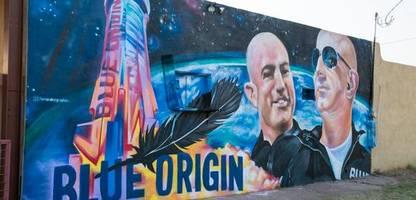 Jeff Bezos' Weltraumfirma peilt Ticketverkäufe von 100 Millionen an