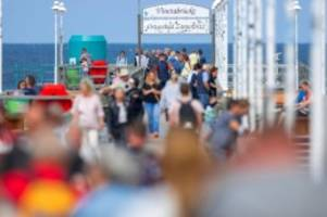 Tourismus: Tourismusbetriebe stark ausgelastet in den Sommerwochen