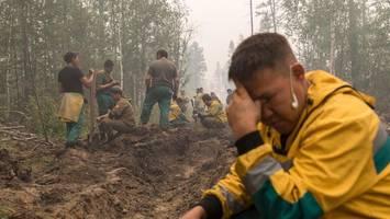 waldbrände in russland erreichen grenze zu finnland