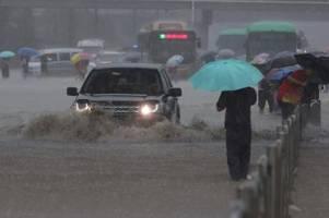 Mehrere Tote bei Überschwemmungen in China