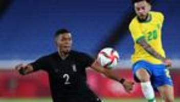 Deutschland gegen Brasilien: Deutschland verliert beim Olympiaauftakt gegen Brasilien