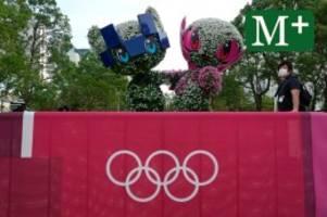 Olympische Spiele: Reportage: So fühlt sich Olympia 2021 in Tokio an