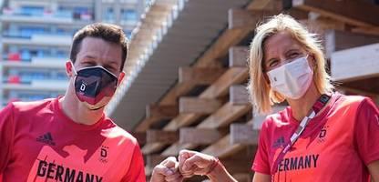 Olympia 2021: Laura Ludwig und Patrick Hausding Fahnenträger in Tokio