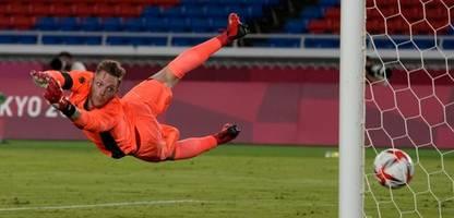 Olympia: Deutsche Fußballer verlieren gegen Brasilien - Im Stich gelassen