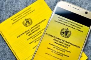 corona-impfung: rki-probleme: apotheken können keinen impfpass ausstellen