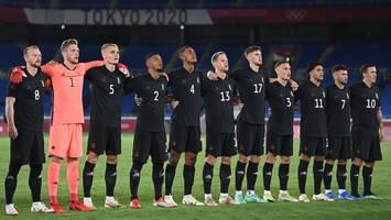 Olympia 2021 in Tokio - Deutsche Fußball-Nationalmannschaft spielt bei Olympia ohne Adler auf der Brust