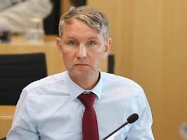 ramelow bleibt im amt: afd scheitert deutlich mit misstrauensvotum