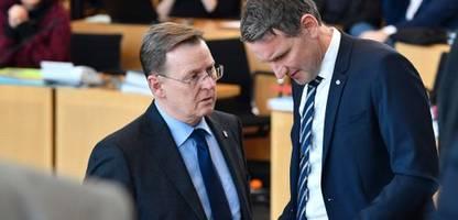 Thüringen: AfD scheitert mit Misstrauensvotum gegen Ministerpräsident Bodo Ramelow
