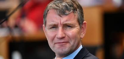 Thüringen - Misstrauensvotum der AfD: Björn Höckes Scheitern