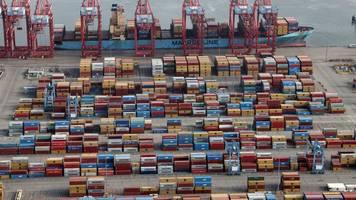 Ausfuhren: Deutsche Exporte in USA und nach China wachsen zweistellig