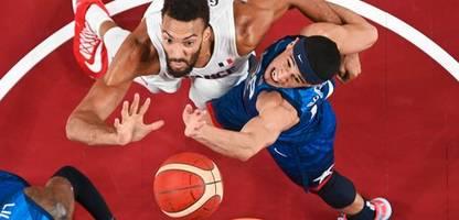 Olympia 2021 - USA: Basketballer verlieren gegen Frankreich