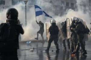 Corona-Pandemie: 25 Festnahmen bei Demo von Impfgegnern in Athen