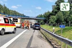 verkehr in hamburg: insgesamt acht verletzte nach unfällen auf der autobahn 1