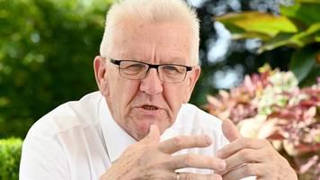 Corona-Pandemie: Kretschmann schließt Impfpflicht nicht aus