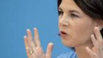 Annalena Baerbock: Wir können uns das Klima-Wirrwarr der Union nicht leisten