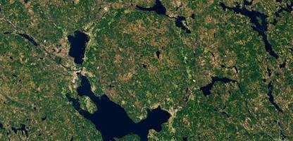 siljan in schweden: hier schlug einst ein meteorit auf