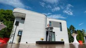 beckum: erstes wohnhaus aus 3d-drucker fertig