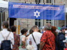 antisemitische bedrohungen bei demonstration in berlin-neukölln