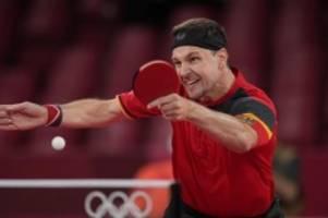 Olympia: Achtelfinal-Aus für Tischtennis-Star Boll