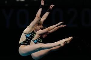 Olympia: Wasserspringerinnen Punzel und Wassen knapp an Bronze vorbei