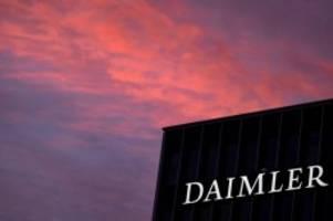 Auto: Daimler: Erneut Tausende Mitarbeiter in die Kurzarbeit